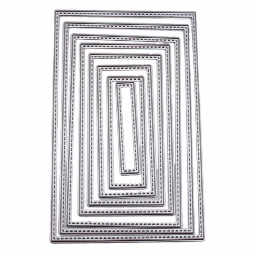 Carbon Steel Square Combination Cutting Die DIY Scrapbooking ...