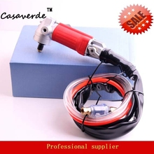 Stone-Angle-Grinder-Machine Polishing-Stone Exhaust-Air-Polisher Arbor for DC-ELA01 Rear