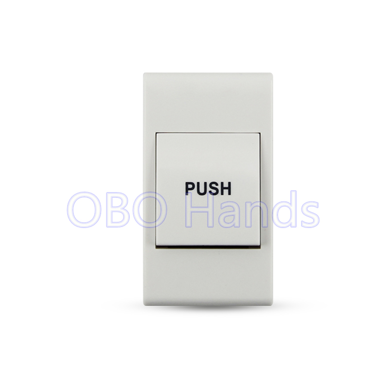 Free shipping high quality plastic door release switch emergency exit button push to open the door for access control system-SC1