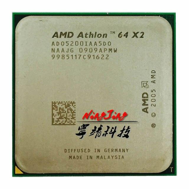AMD Athlon 64 X2 5200+ 5200 2.7 GHz Dual-Core CPU Processor ADO5200IAA5DO  Socket