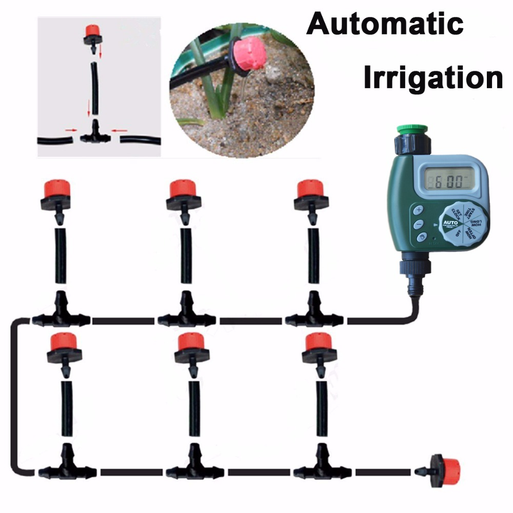 DIY Micro Irrigation Drip System, Plant Self Automatic ...