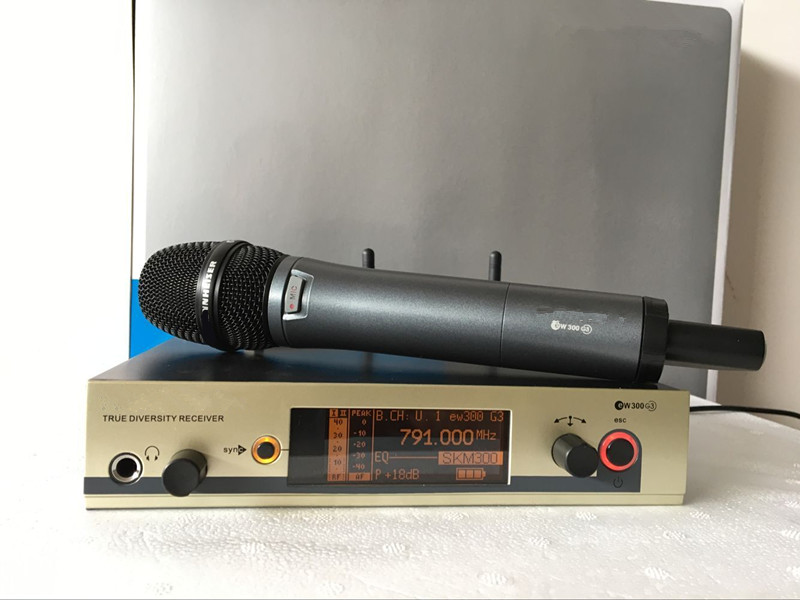 Best sound 780 822MHZ Reliable quality UHF handheld wireless microphone EW300 EW335 G3 microphone