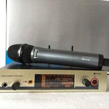 Лучший звук 780-822 МГц надежное качество UHF Ручной беспроводной микрофон EW300 EW335 G3 микрофон
