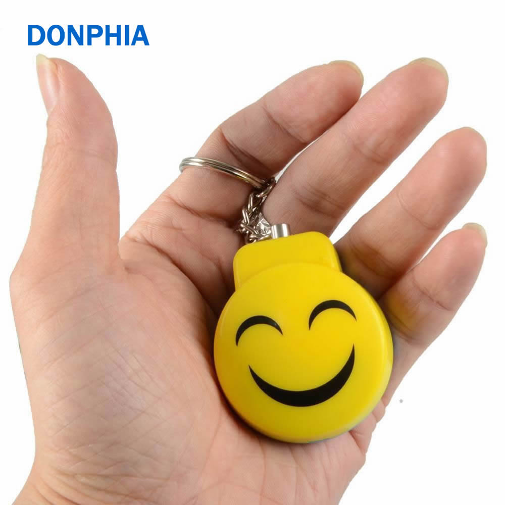 DONPHIA 120db Personal Alarm Device Self Defence Anti-robe Anti-violence Supper mini Security Protect Alert Big Loud Key Chain metal keyboard ylgf ps 2 super mini embedded industrial key waterproof ip65 dust anti violence stainless steel ring