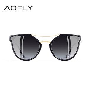 Image 3 - AOFLY MARKE DESIGN Mode Sexy Katze Auge Polarisierte Sonnenbrille Frauen 2020 sonnenbrille Klassischen Gradienten Brillen Oculos UV400 A116
