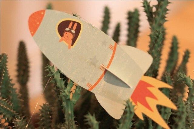 Rakete U0026 Planeten Papier Handwerk Geburtstag Dekorationen Kinder Baby  Duschen Hängen Kinderzimmer Dekoration Kindertages Papier Decor