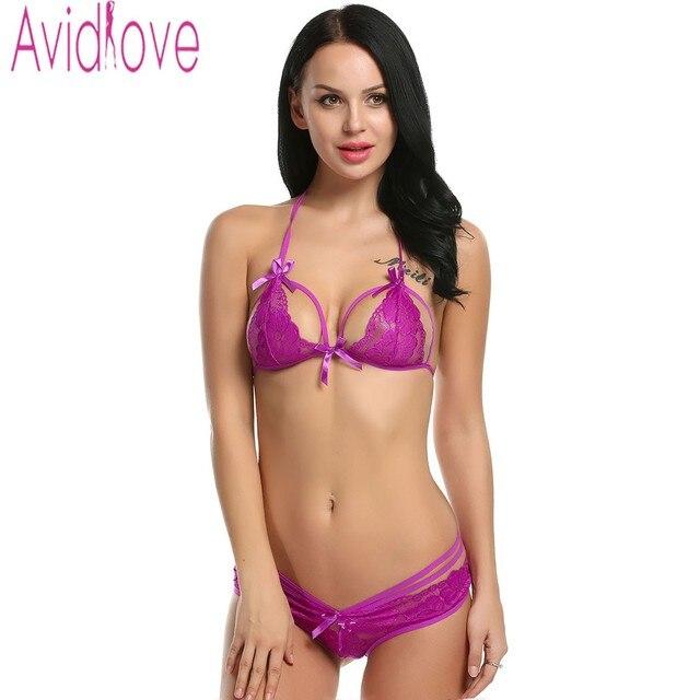 6eb002c576 Avidlove Sexy Bra Panties Set Women Lingerie Sexy Lace Bra Bralette Brasier  Underwear Seamless Bra Set