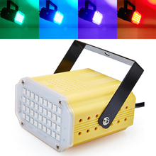 Auto &Voice Control 36RGB SMD5050 LED Stage Light Disco Party DJ Club Strobe Lamp Music Show Stroboscope Bulb Projector Lighting