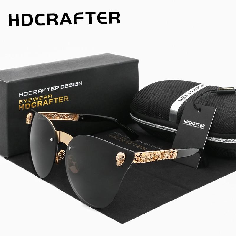 c8dab0e34 Fashion Lady Gothic Eyewear Metal Skull Frame sunglasses Women Sun Glasses  Oculos de sol UV400