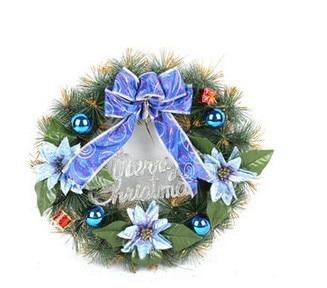 Xmas Santa Ornament Cany Art Christmas wreath gift Xmas Garland +Free Shipping