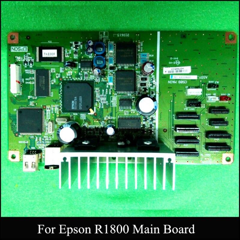 Original Main Board For Epson R1800 font b Printer b font Mother Board C589 MAIN