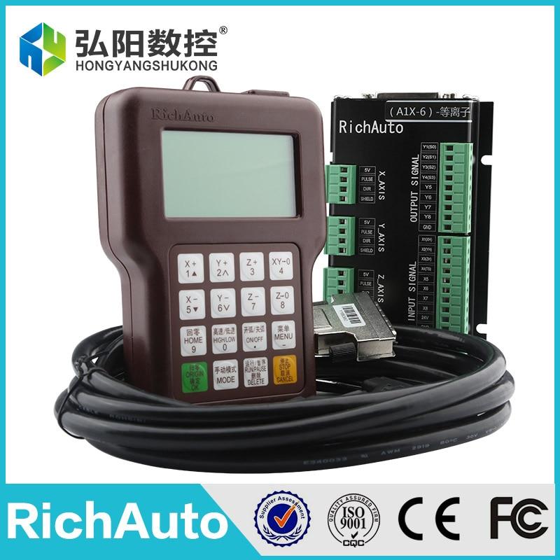 کنترلر RichAuto A12S DSP برای کنترل دستگاه plasma dsp & board & data data & USB lind & CD
