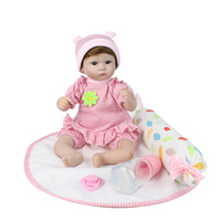 Real Life Looking Baby Dolls 17 Inch Soft Silicone Realistic Reborn Babies That Look Real With