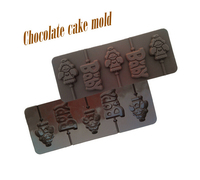 Angel baby lollipop mold DIY chocolate mould with stick