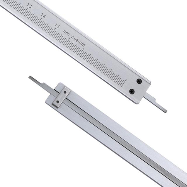 Micrometer Pie De Rey Paquimetro Measuring Tools Vernier Caliper 6″ 0-150mm/0.02mm Metal Calipers Gauge