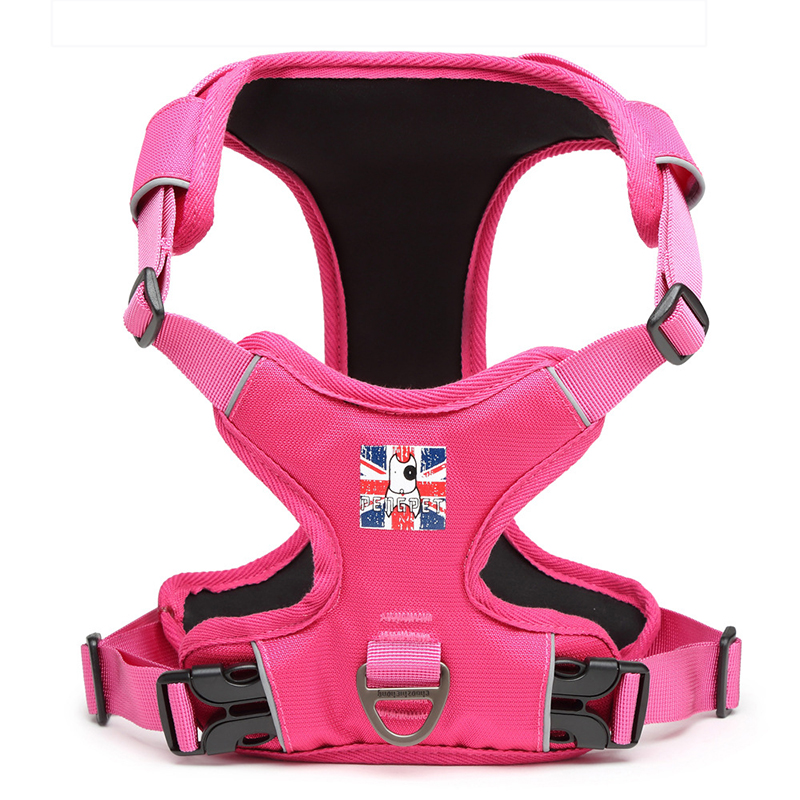 Venxuis Nylon Sport Pet Harness Vest For Small Dog Soft Protected Dog Walking Harness Vest Pet Cat Puppy Drop Shipping