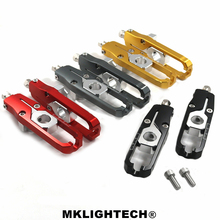 MKLIGHTECH Motorcycle Aluminum Chain Adjusters Tensioners For HONDA XADV X-ADV 300 750 1000 2017- 2019