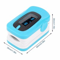 100 Brand Home Health Care Tip Pulse Oximeter Two Colors OLED Display Modes Heart Rate Monitor