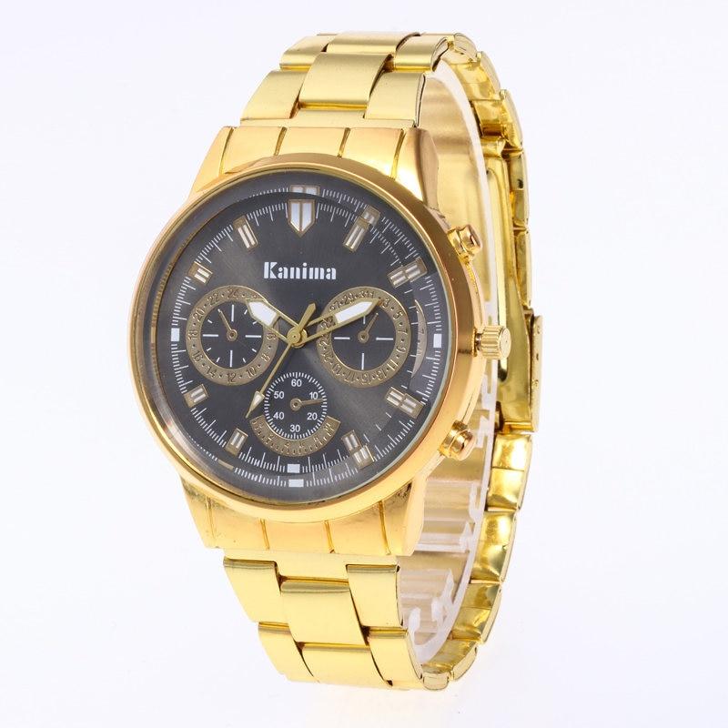 Reloj Mujer Új Divat Men Quartz Watch Luxus Márka Rozsdamentes - Férfi órák