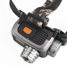 Sale Waterproof SKYWOLFEYE F518 XPE LED Zoomable 300lm Headlight 3-Modes Flashlight