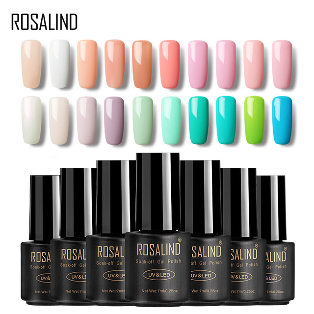 ROSALIND Gel 1 7ml HOT SALE 29 COLORS Nail Polish Nail Art Nail Gel ...