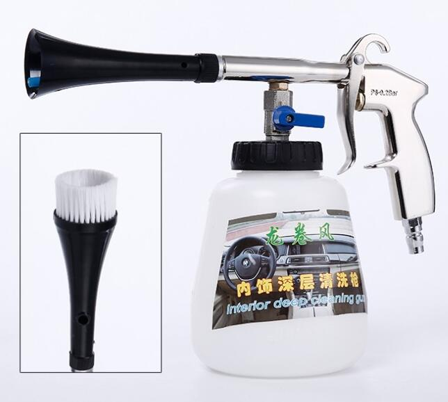 Black/preto tornado cleaning gun , high pressure car washer tornado foam gun,car tornado espuma tool free shipping