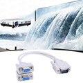 2 en 1 vga un punto dos cable de alambre de pantalla dividida pantalla dividida pantalla vga 15pin cable de pantalla dividida vga1-2 distribuidor conector