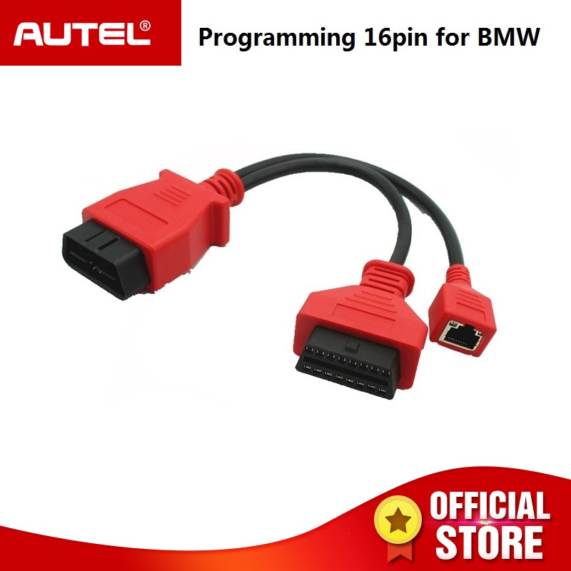 Autel Auto Programming Cable for BMW Ethernet cable for AUTEL Maxisys pro ms908p & Autel Maxisys Elite 16 pin Cable autel maxisys elite car diagnosis j2534 ecu programing tool faster than ms908p 908 pro free update 2 years on autel website