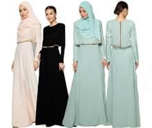 c7a1efd574c3 Djellaba turco Abaya para las mujeres Robe Musulmane 2017 adulto caliente  nuevo vestido musulmán adoración falso dos Pakistán Du.