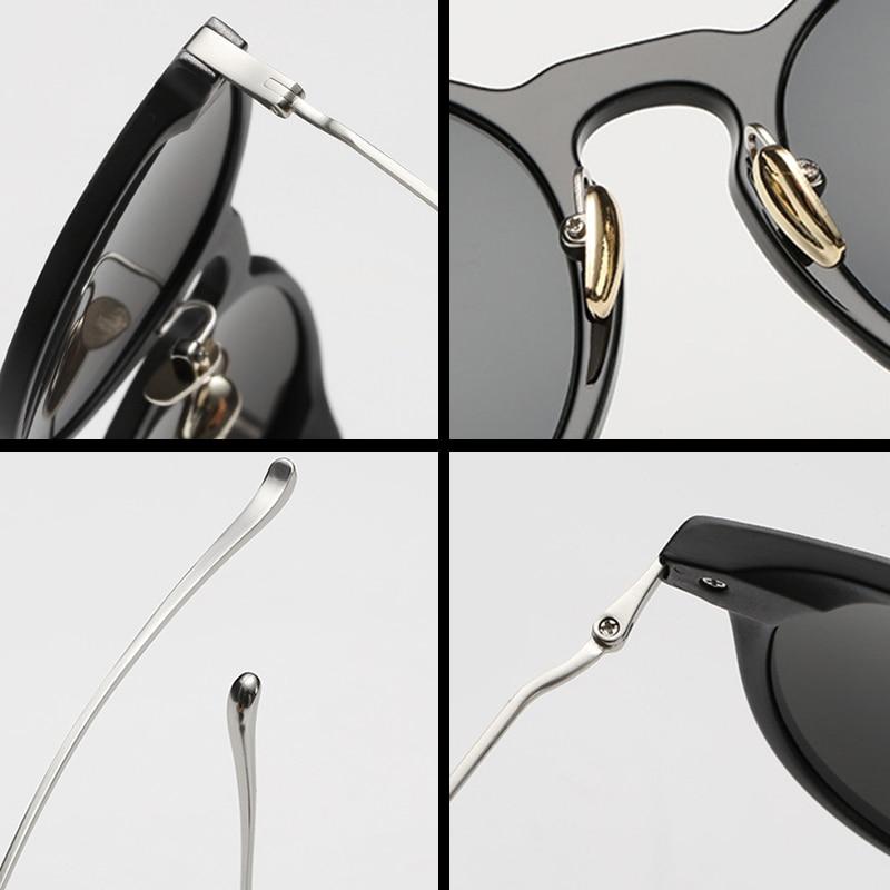 FEIDU 2016 New Cat Eye Sonnenbrille Frauen Marke Designe Körnung - Bekleidungszubehör - Foto 5
