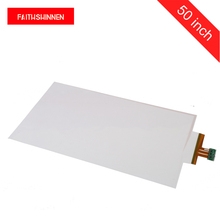 50 inch capacitive touch foil CAPC touch film screen 10 touch points interactive