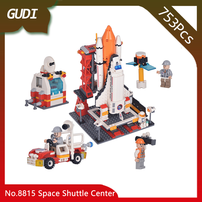 Doinbby Store 8815 679Pcs Aerospace Series Space Shuttle Center Building Blocks set Bricks Children For Toys Gudi Boys Gift gudi city space center rocket space shuttle blocks 753pcs bricks building blocks birthday gift educational toys for children