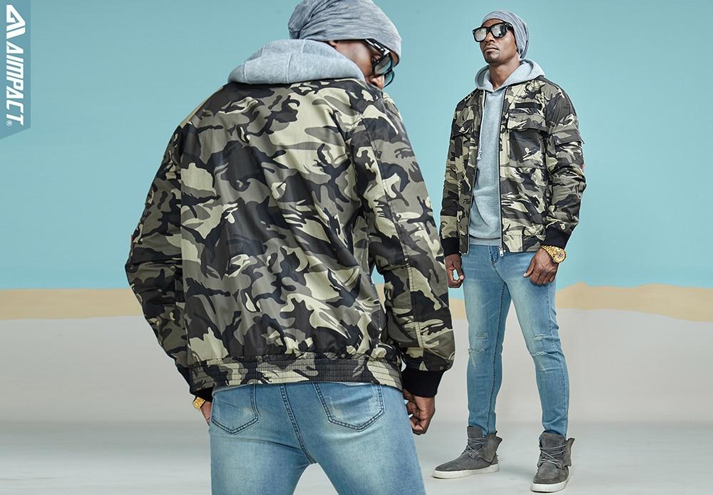 Aimpact Camo Cotton Jackets for Men 2018 New Winter Windproof Windbreaker Pilot Flight Biker Jackets Hiphop HighStreet Warm Coat (19)