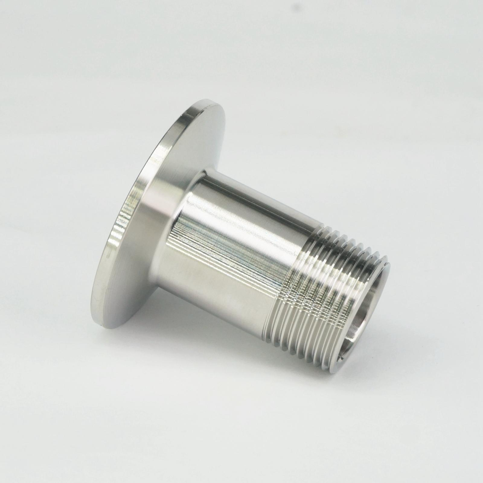 3/4 BSP Male x 1.5 Tri Clamp 304 Stainless Steel Pipe Fitting Connector For Homebrew