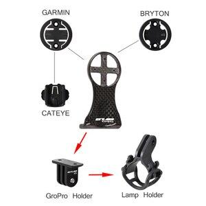 Image 5 - GUB 693 סיב פחמן מחזור מחשב כידון מחזיק אופני להחזיק שולחן סוגר MTB כביש אופניים גזע מנורת הר 16g