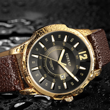 CURREN Luxury Casual Men Watches Analog Military Quartz Wris