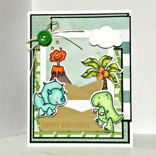 Eastshape Clear Stamp with Cutting Dies Dinosaur Coconut Stamps and Dies Crafts Dies Embossing Stencil Scrapbooking New 2019 eastshape clear stamp with cutting dies dinosaur coconut stamps and dies crafts dies embossing stencil scrapbooking new 2019
