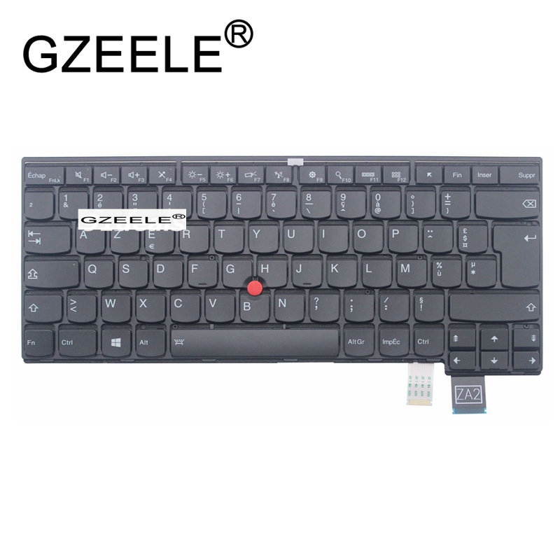 GZEELE new keyboard for Lenovo for Thinkpad T460P T470P keyboard backlit French Clavier FR AZERTY new azerty for asus f8p clavier french keyboard