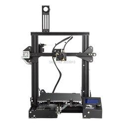 2018 Ender-3 3D-принтеры большой принт Размеры 220*220*250 мм Эндер 3/Ender-3X съемный кровать i3 продолжение принтом Мощность отказ