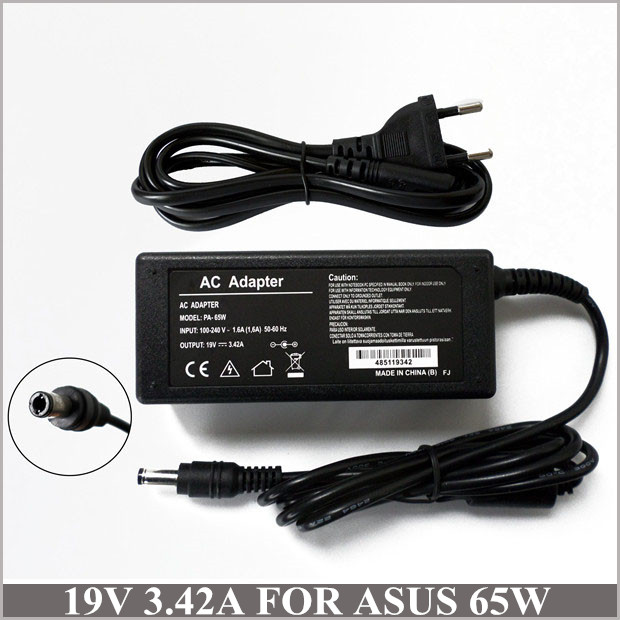 19V 3.42A 65W Universal Laptop Charger AC Adapter Battery Charger For Asus R33030 <font><b>N17908</b></font> <font><b>V85</b></font> N193 M6000N M6700N M6800N M6B00N image