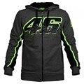 2016 Новый мужская Одежда Вален MotoGP Росси VR46 Толстовки Кофты Толстовки Мотоцикл Случайные Зимних Видов Спорта Куртки