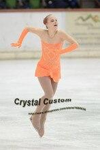 Figure Skating Dresses Competition Children Fashion New Brand Skating Clothing Kids DR3381