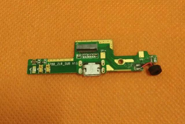 Used Original USB Plug Charge Board + Microphone For Mijue M680 5'' QHD 960x540 MTK6582 Quad Core Free shipping