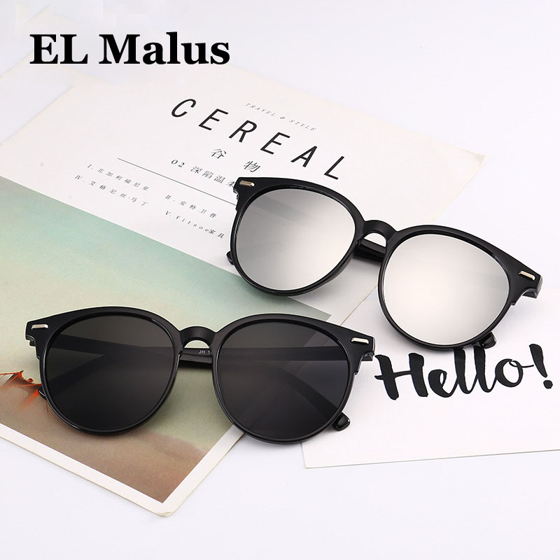 2018 Retro Big Round Frame Sunglasses Women Men Uv400 Vintage Club Sun Glasses Pink Black Red Yellow Female Male Discounts Sale el Malus Initiative