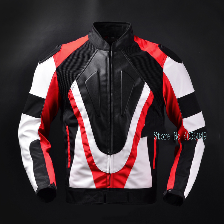 Hump racing suit motorcycle anti-fall Oxford cloth + PU motorcycle jacket for dain seasons Jersey new stock arrival 2018 motogp motorcycle shatter resistant riding suit racing suit for dain
