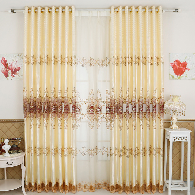 Online Get Cheap Silk Curtains Sale