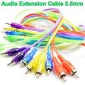 BrankBass Высокое качество 3.5 мм до 2 RCA аудио кабель адаптер мужской к мужчине кабо kabel для iPod Mp3 Mp4 Плеер Мобильного Телефона