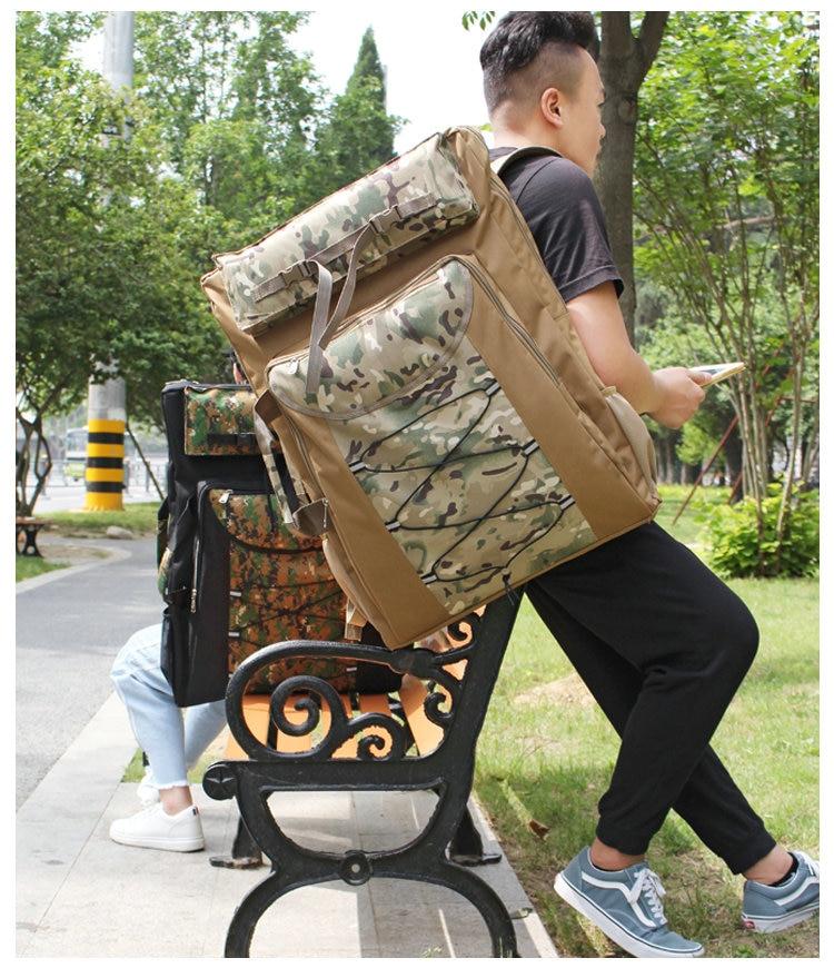 Camo Fashion Art Bag School Art Supplies 4K Large Painting Board Bag Waterproof Art School Bag