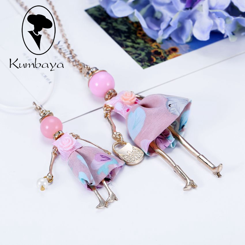 Spring Styles Sets on Arrival !! Cute Dress Doll Necklace Girls and Kids Sets Women Fash ...