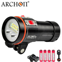 ARCHON D37VP W43VP Diving Video Light * L2 Led U2 Red UV Dive Flashlight Underwater Photographing Spot Light
